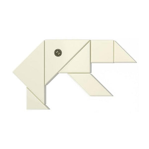 Vincit Vincit | The Tangram - Ivory | A LITTLE FIND