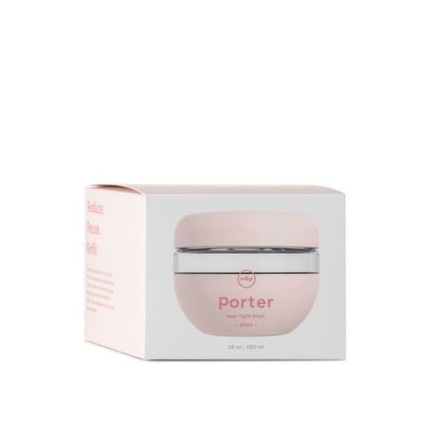 W&P Porter | Porter Seal Tight Bowl - Blush 16oz | A Little Find