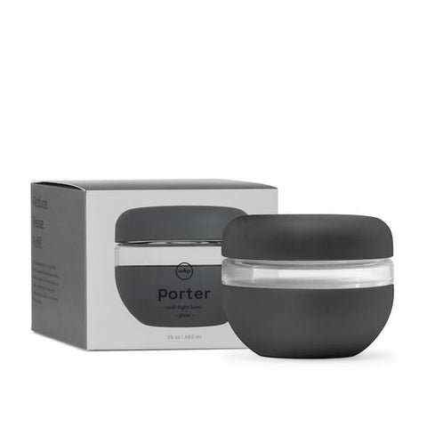 W&P Porter | Porter Seal Tight Bowl - Charcoal 16oz | A Little Find