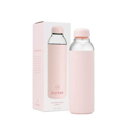 W&P Porter | The Porter Water Bottle - Blush 20oz | A Little Find
