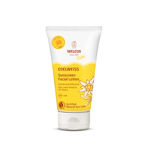Weleda | Edelweiss Sunscreen Facial Lotion SPF 30 | A Little Find