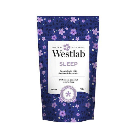 Westlab | Sleep Bathing Salts - Lavender & Jasmine 1Kg | A Little Find