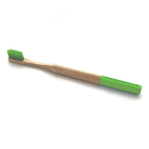 Zero Waste Club | Bamboo Toothbrush - Leaf Green | A Little Find