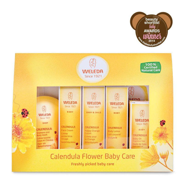 Weleda | Calendula Baby Care Starter Kit Beauty Shortlist Baby Winner 2014 | A Little Find