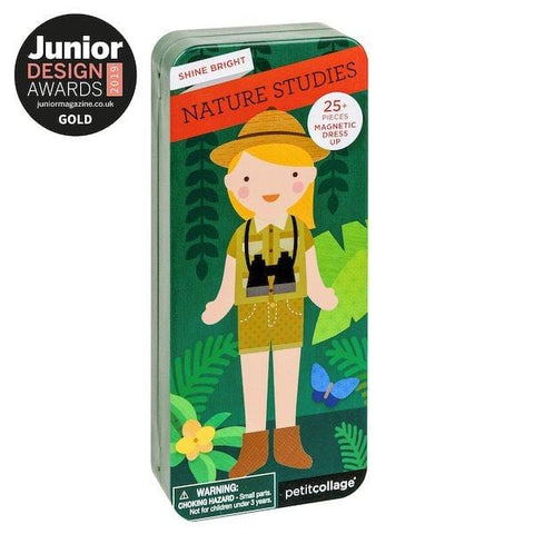 Petit Collage | Nature Studies Magnetic Dress Up Set | A Little Find