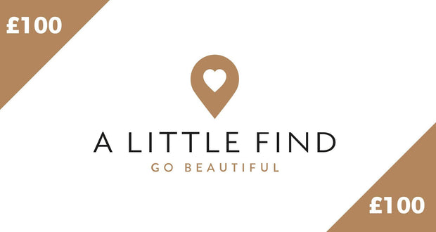 A Little Find Gift Card - £100.00 - Gift Card