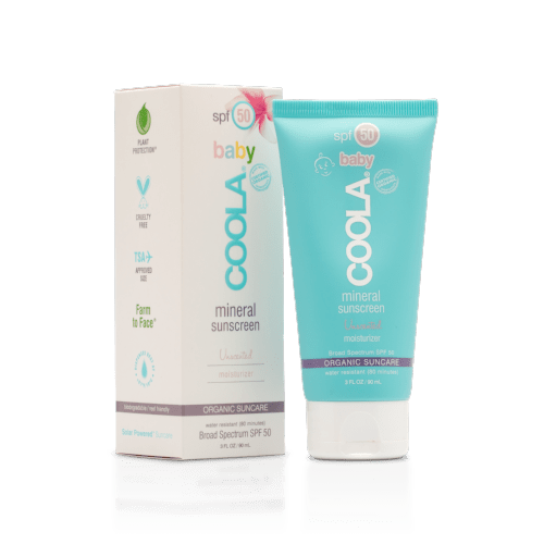 Coola | Baby SPF 50 Mineral Sunscreen - Unscented  - 90ml | A LITTLE FIND
