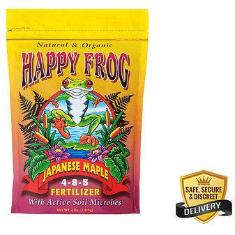 FoxFarm Happy Frog Japanese Maple Fertilizer 4lb - organic Free Shipping
