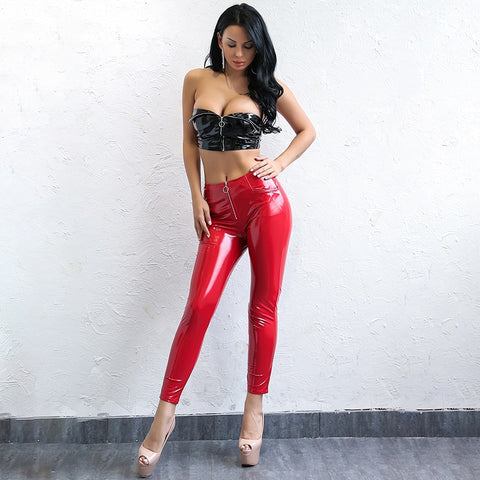 Faux Leather Skinny Pants - 2 Colors Available