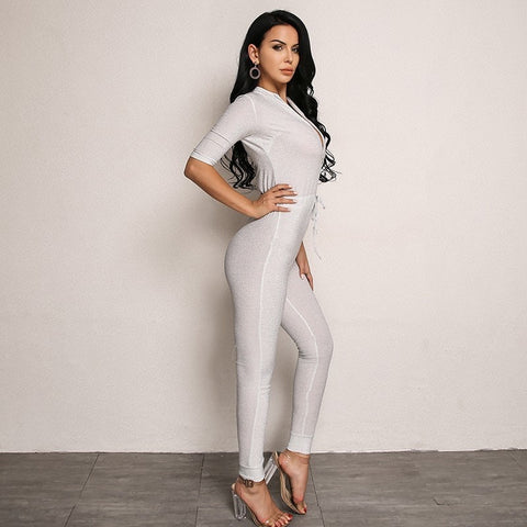 Sexy Sparkly Metallic Jumpsuit