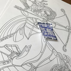 Stagittarius Art - Star Constellations Coloring Book