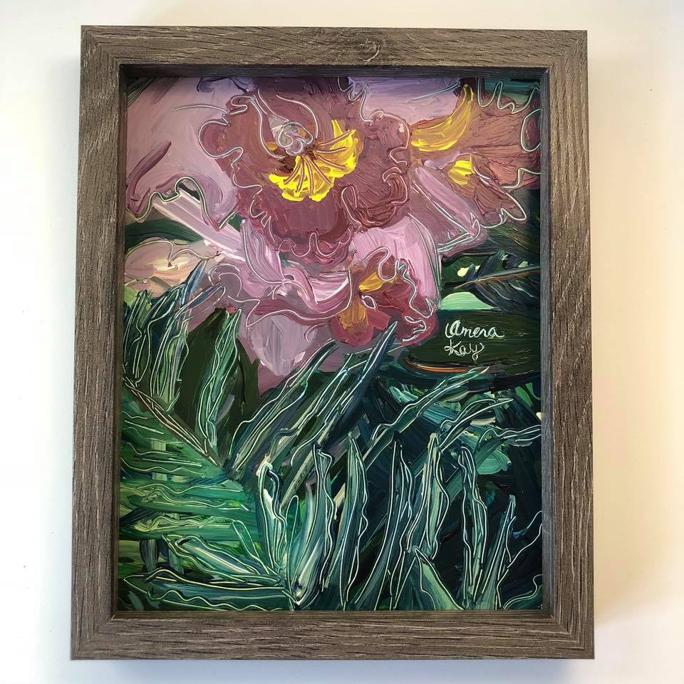 """Flower Flair"" Flower Painting"