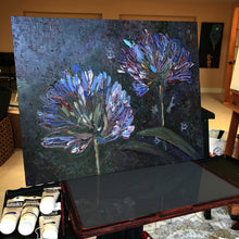 "Load image into Gallery viewer, ""You Are Not Alone"" Flower Painting"