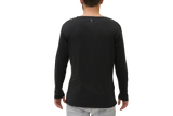 THE INDEPENDENT LONG SLEEVE - CHARCOAL BLACK