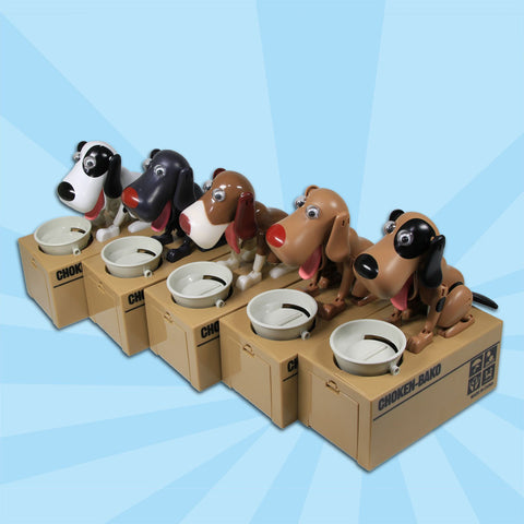 Cute Robotic Doggy Coin Bank Saving Box