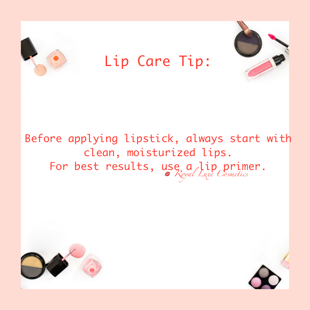 Lip Care Tip