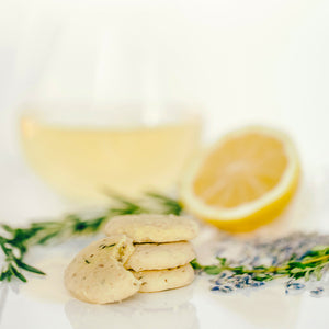 Load image into Gallery viewer, Lemon Sablés with Herbes de Provence