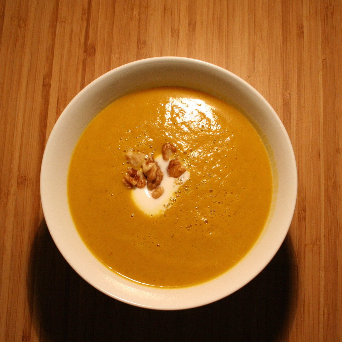 Saha Coconut Curried Butternut Squash Soup