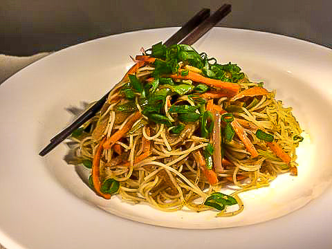 Saha Stir-Fried Curried Noodles