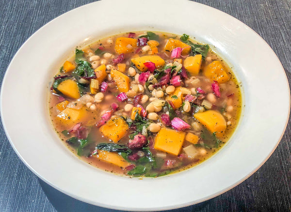 Saha Spicy Squash and Bean Soup