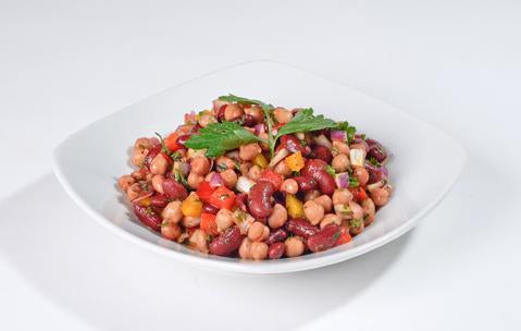 Saha Summer Bean Salad