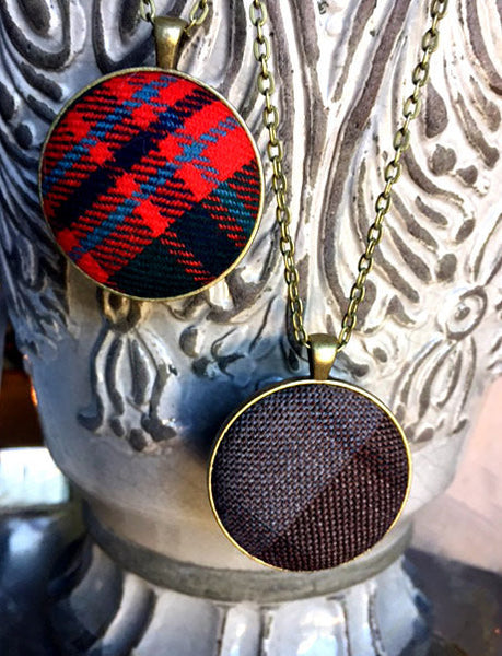 Tartan necklaces