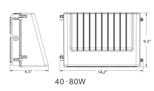 LED Full Cutoff Wall Pack