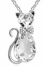 Cat Crystal Charms Pendants For Women Who Love Cats