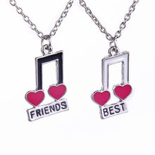 Load image into Gallery viewer, Women's Best Friends Pendant Necklace Set By Meirenpeizi