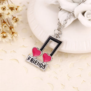 Women's Best Friends Pendant Necklace Set By Meirenpeizi