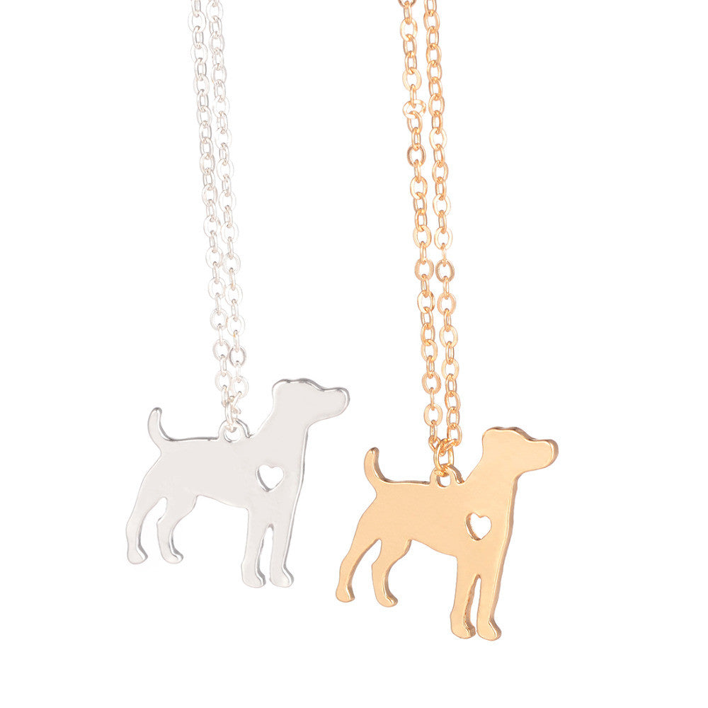 Jack Russell Terrier Dog Pendent Necklace