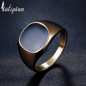 Classic Cubic Zirconia Ring With Bezel Setting By iutopian