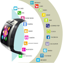 Men's Bluetooth Smartwatch With Touch Screen And Camera For Android Phone
