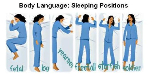 sleep, sleep positions, bed, pillow