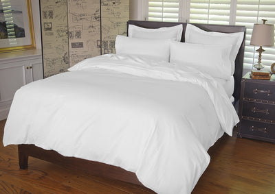 Warm Things Home 360 Thread Count Cotton Percale Duvet Cover