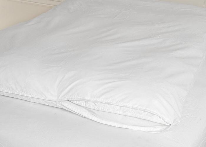 Cotton Zippered Feather Bed Cover Warm Things