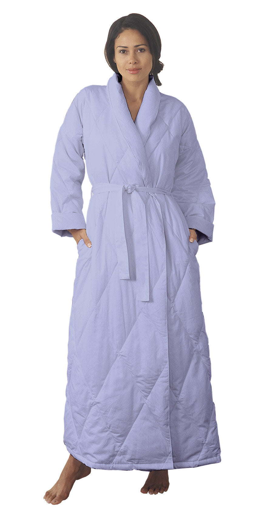 Warm Things Quilted Down Robe