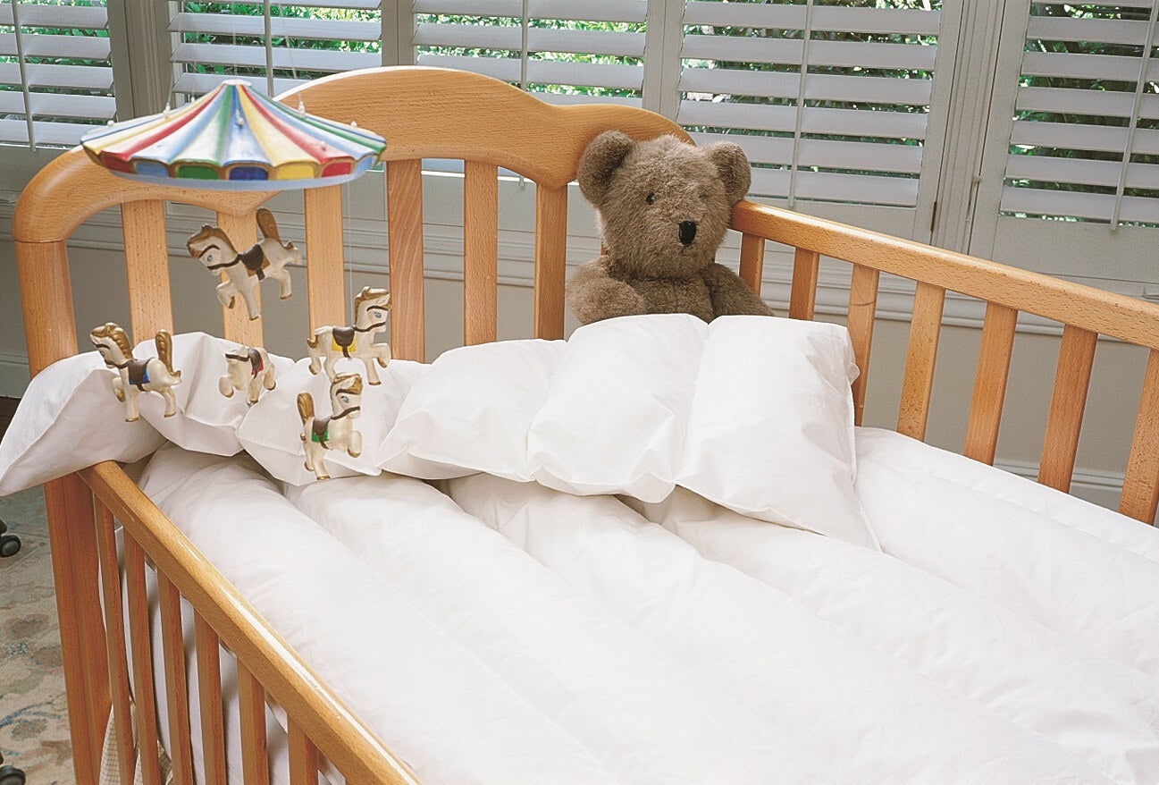 Just For Baby White Down Comforter Warm Things