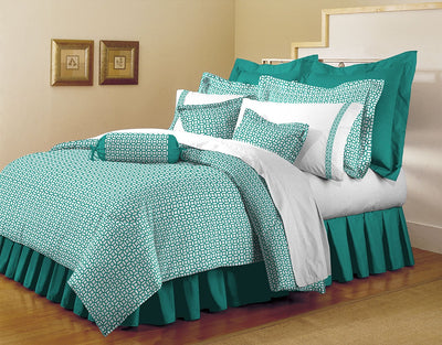 Coin Printed Microfiber Duvet Cover Set