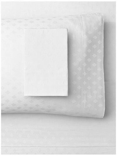 Jacquard Diamond 300 thread count Duvet Cover Set