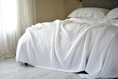 Christy Quilted Lattice Coverlet