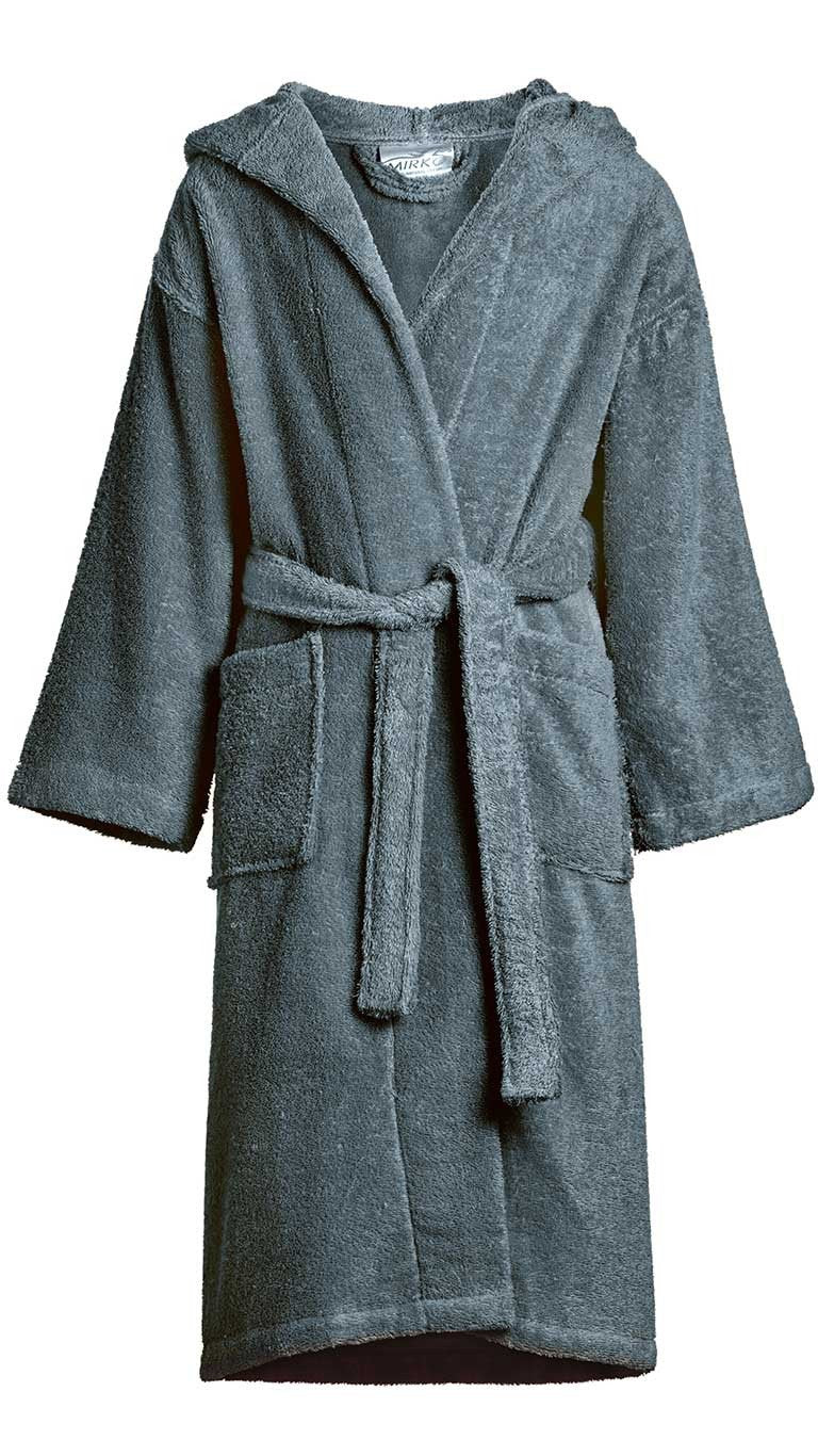 44a8e78824 Kid s 100% Cotton Hooded Terry Robe - Warm Things