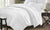 Mendocino Medium Weight White Goose Down 400 Thread Count Comforter (Level 2)