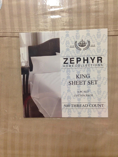 500 Thread Count Cotton Rich 6-Piece Sheet Set