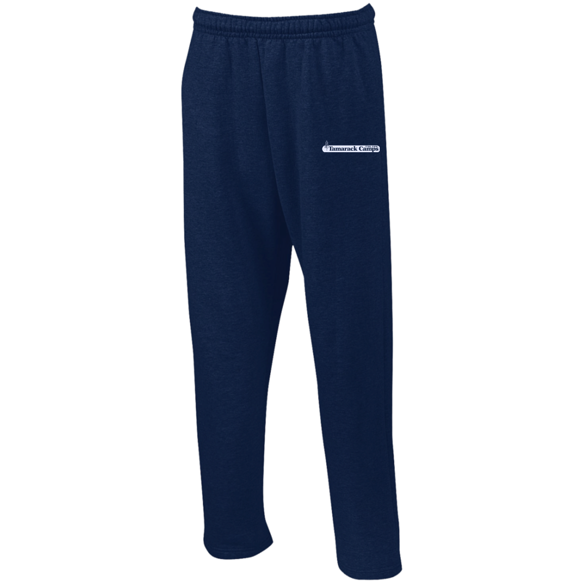 Sweatpants with Pockets- White Logo