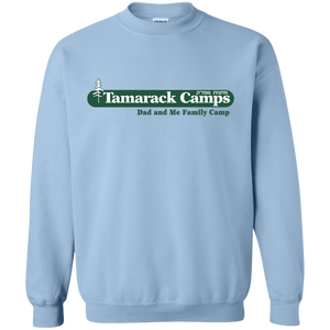 Dad and Me Crewneck Pullover Sweatshirt (Front & Back)
