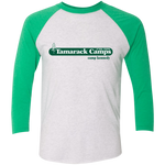 Camp Kennedy Tri-Blend 3/4 Sleeve Baseball Raglan T-Shirt