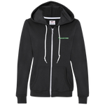 Ladies Full-Zip Hooded Fleece