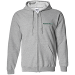Zip Up Hooded Sweatshirt- Classic Logo