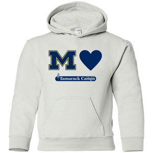 Michigan Loves Tamarack Youth Hoodie